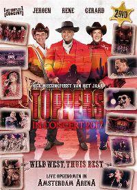 Cover Jeroen - Rene - Gerard - Toppers In Concert 2017 - Wild west thuis best [DVD]